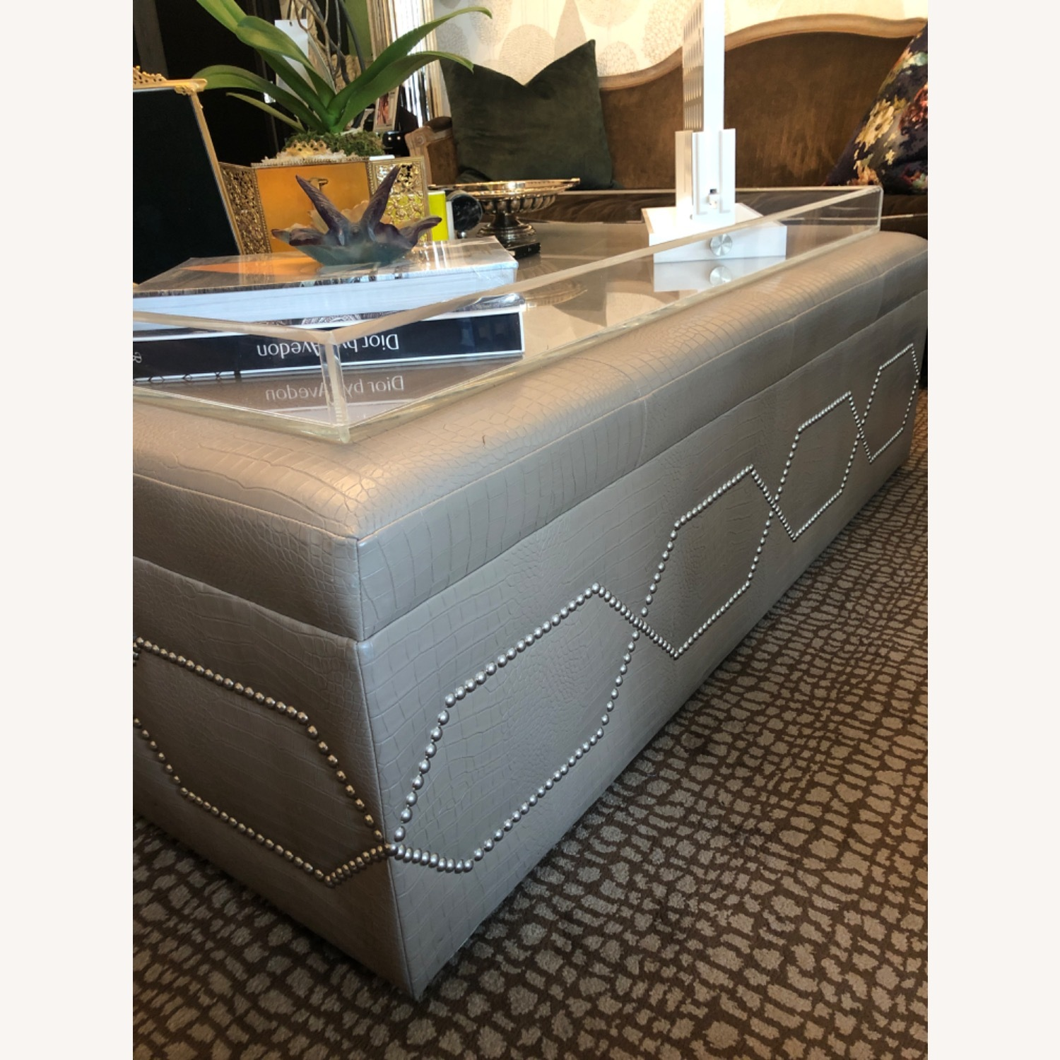 Taylor Made Custom Furniture Oversized Coffee Table - image-1