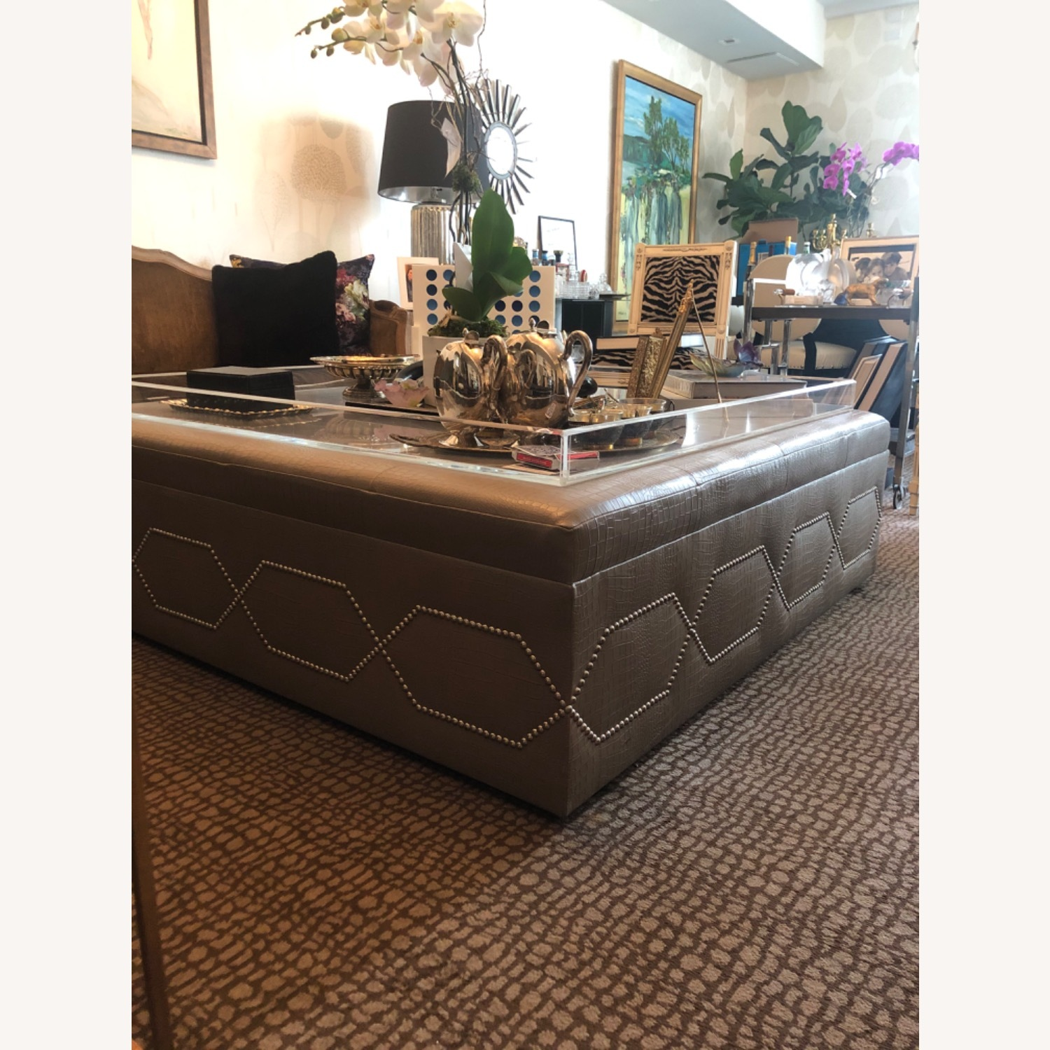 Taylor Made Custom Furniture Oversized Coffee Table - image-2