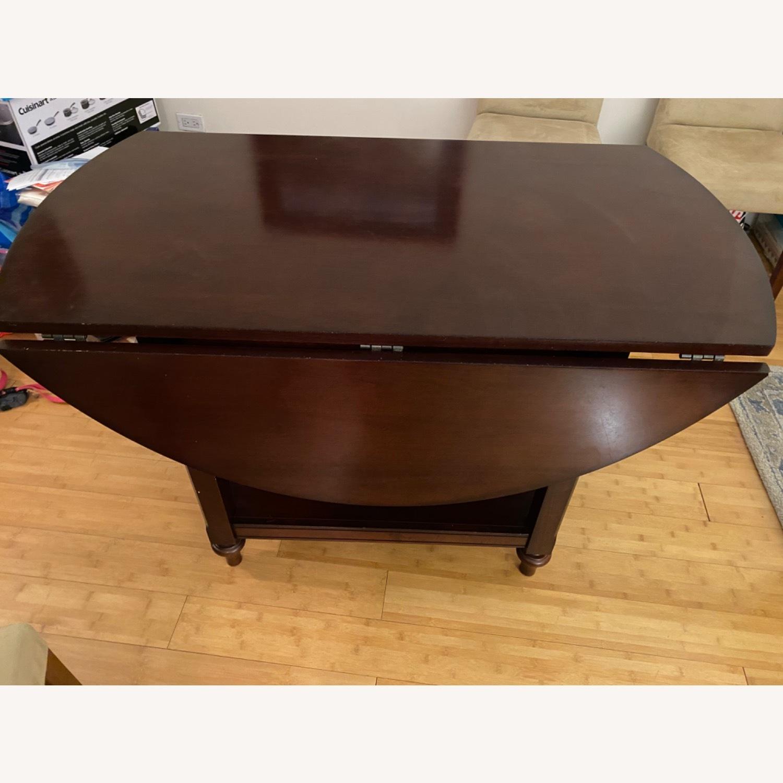 Pottery Barn Dark Wood Table - image-4
