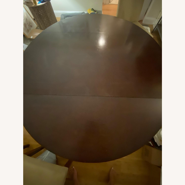Pottery Barn Dark Wood Table - image-1