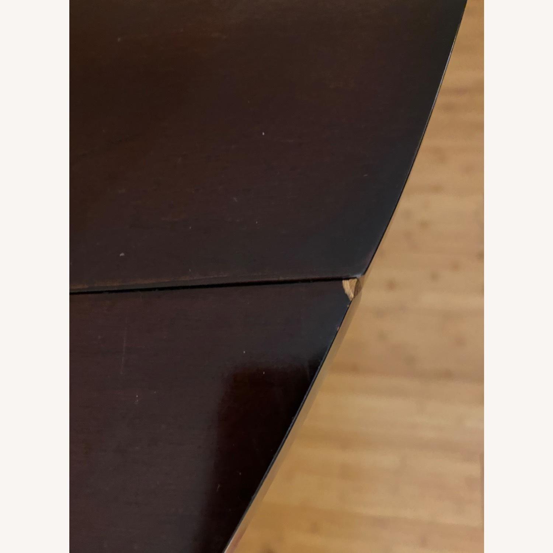 Pottery Barn Dark Wood Table - image-3