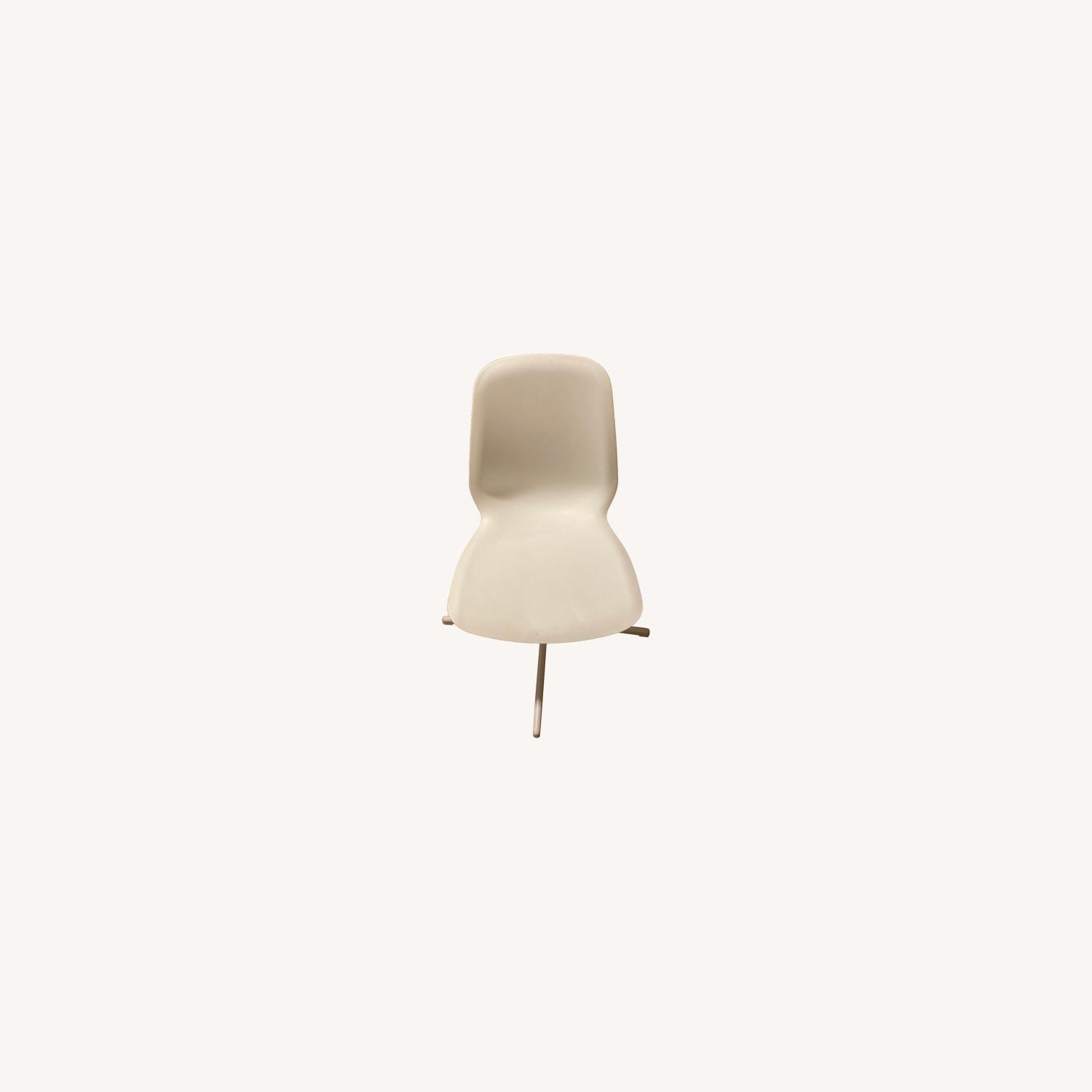 IKEA Two White Leifarne Chairs - image-0