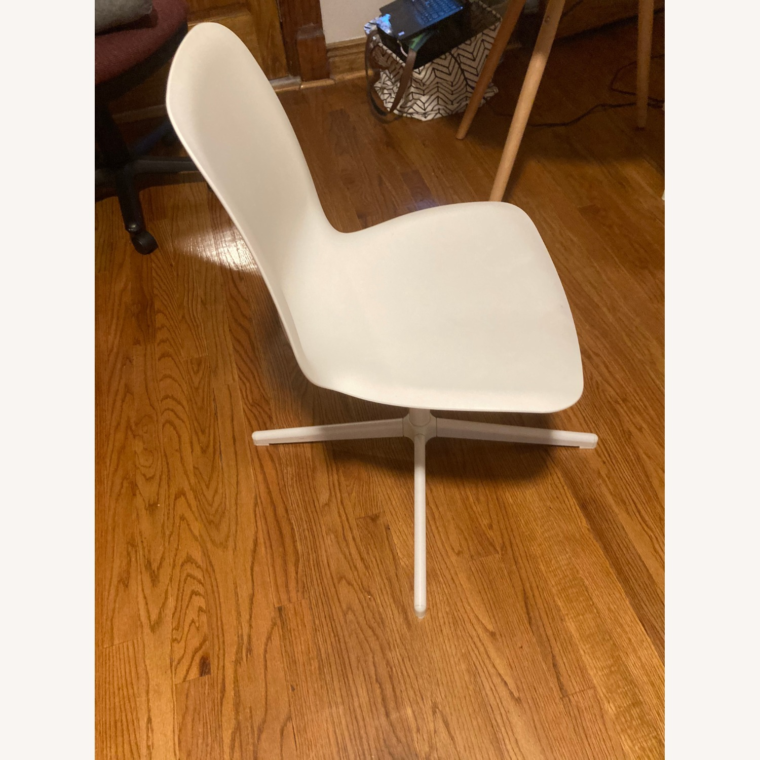 IKEA Two White Leifarne Chairs - image-2