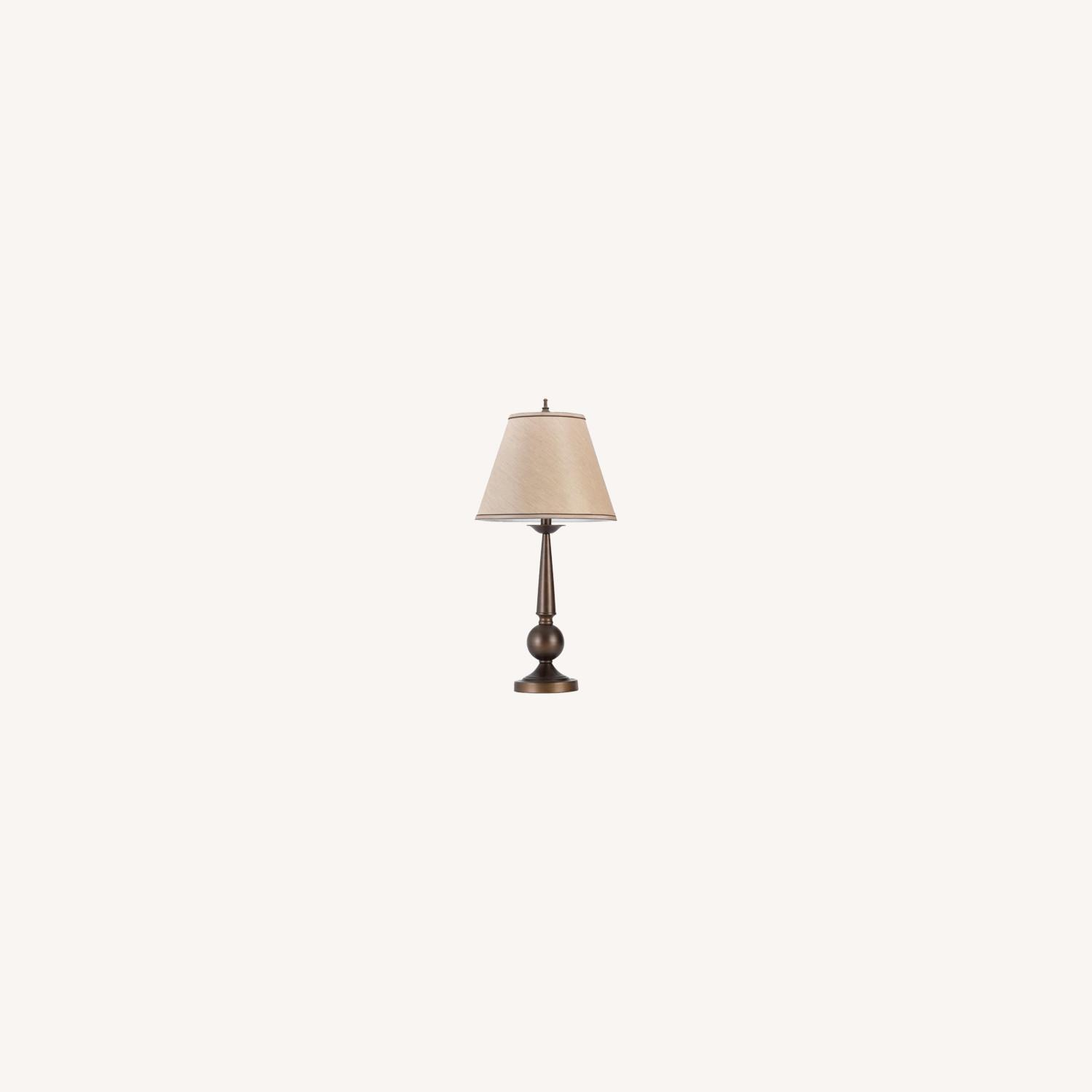 Table Lamp In Bronze Finish Base - image-3