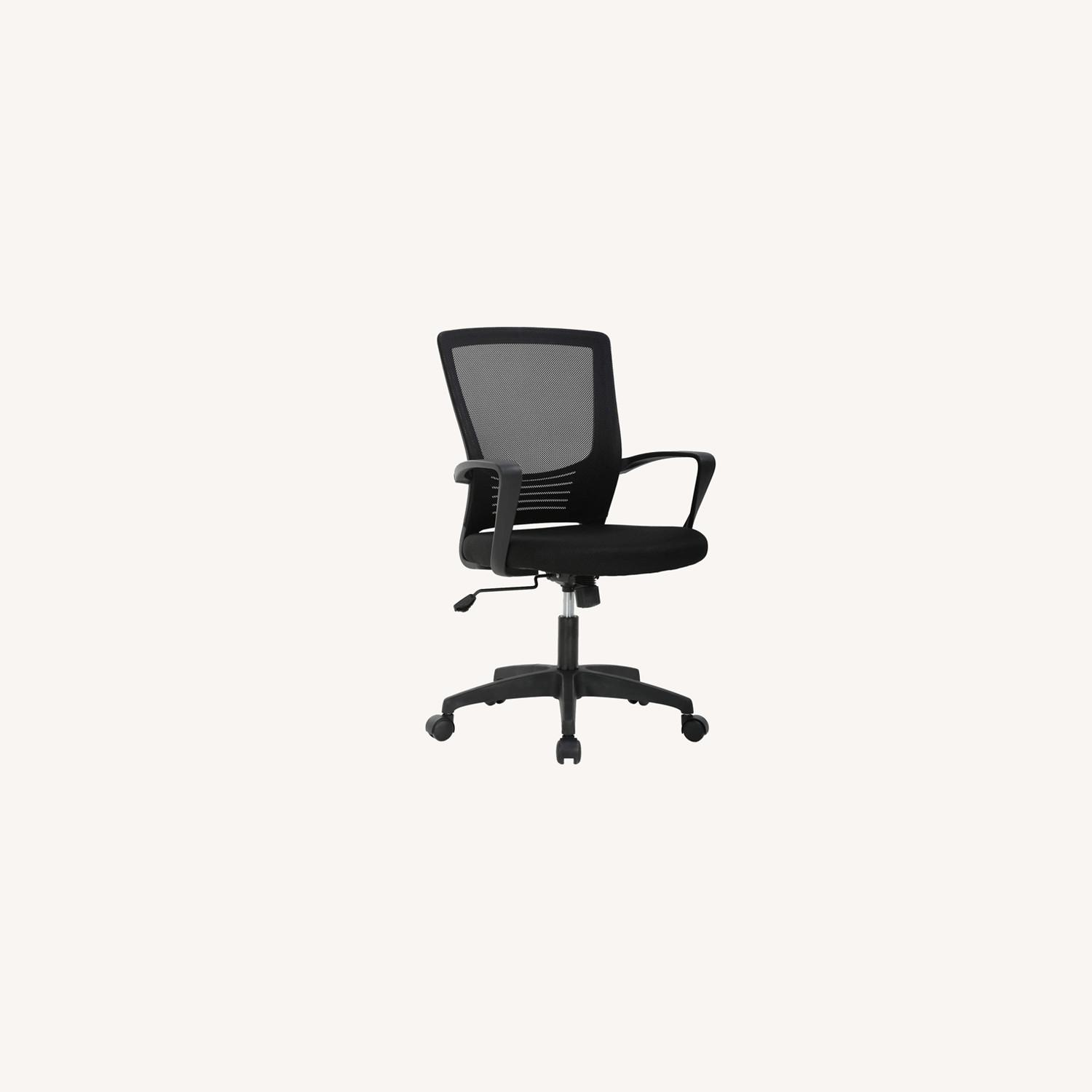 Black Office Chair - image-0