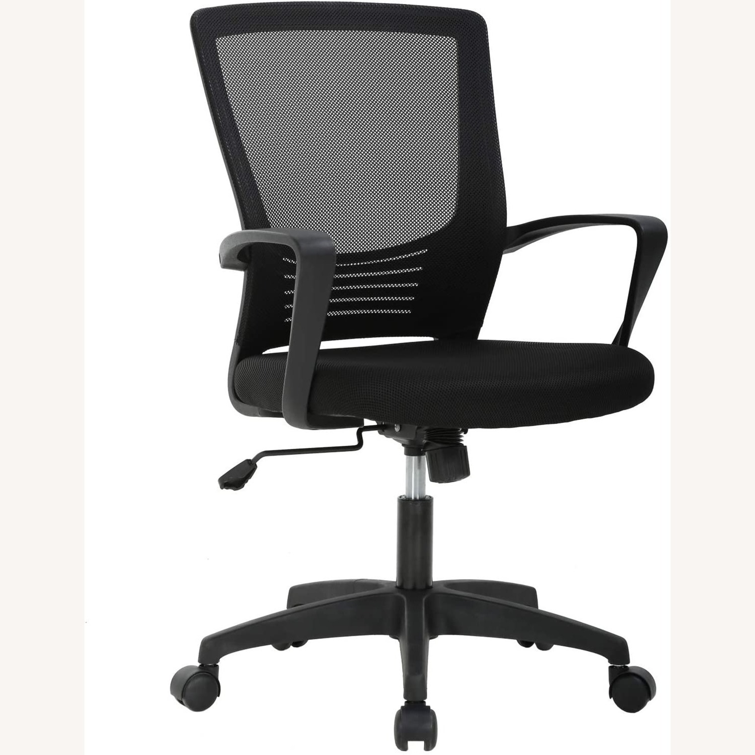 Black Office Chair - image-1