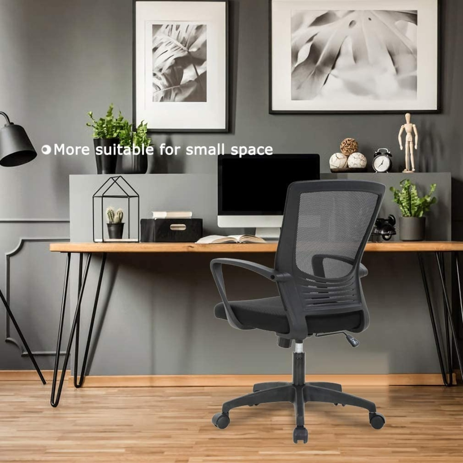 Black Office Chair - image-3