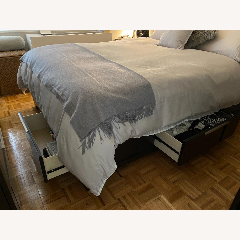 Bob's Discount Furniture Queen Bed with Storage Below - image-2