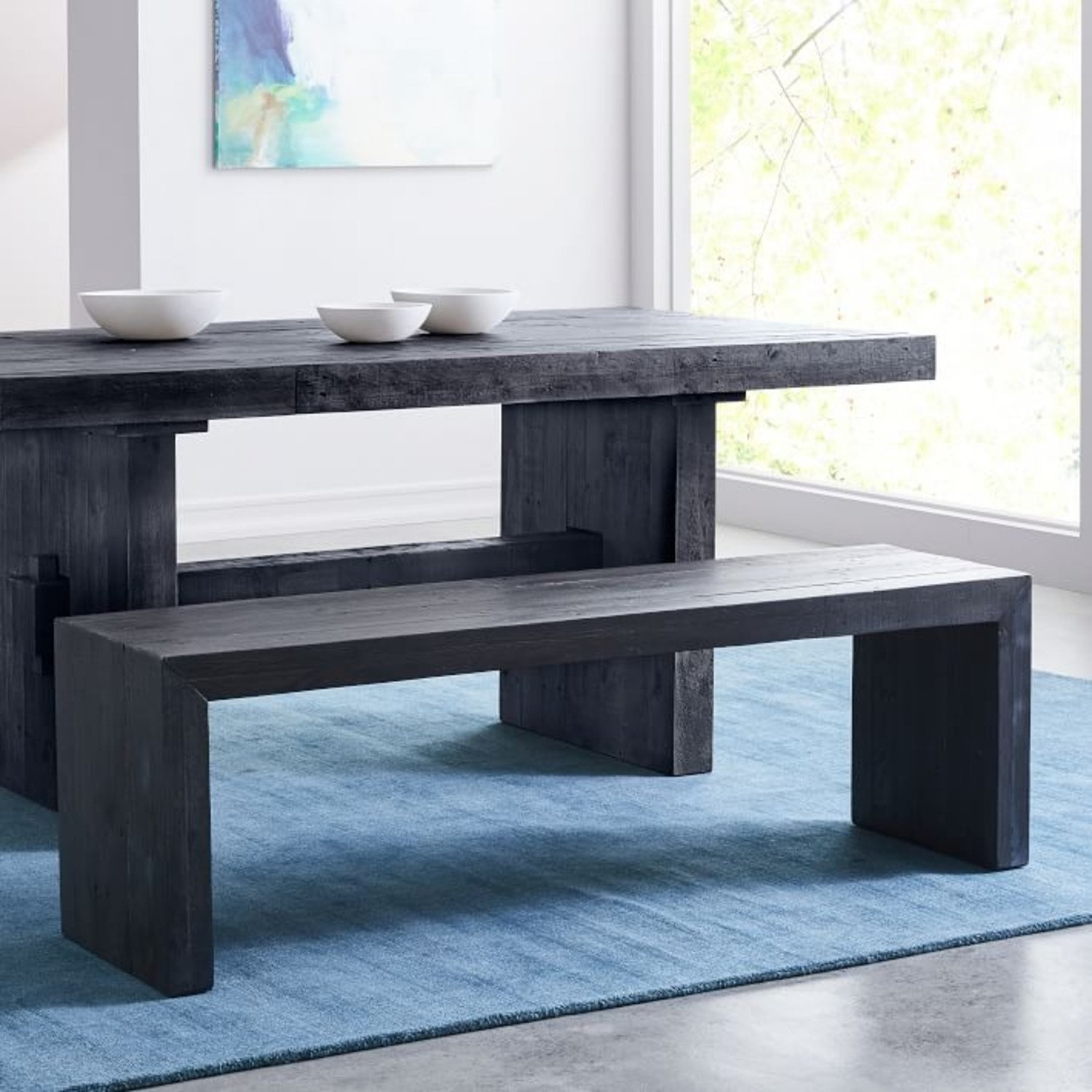 West Elm Emmerson Dining Bench - image-1