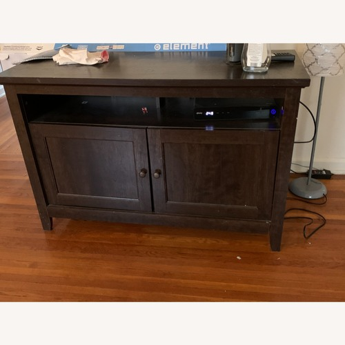 Used Bob's Discount Furniture TV Stand for sale on AptDeco