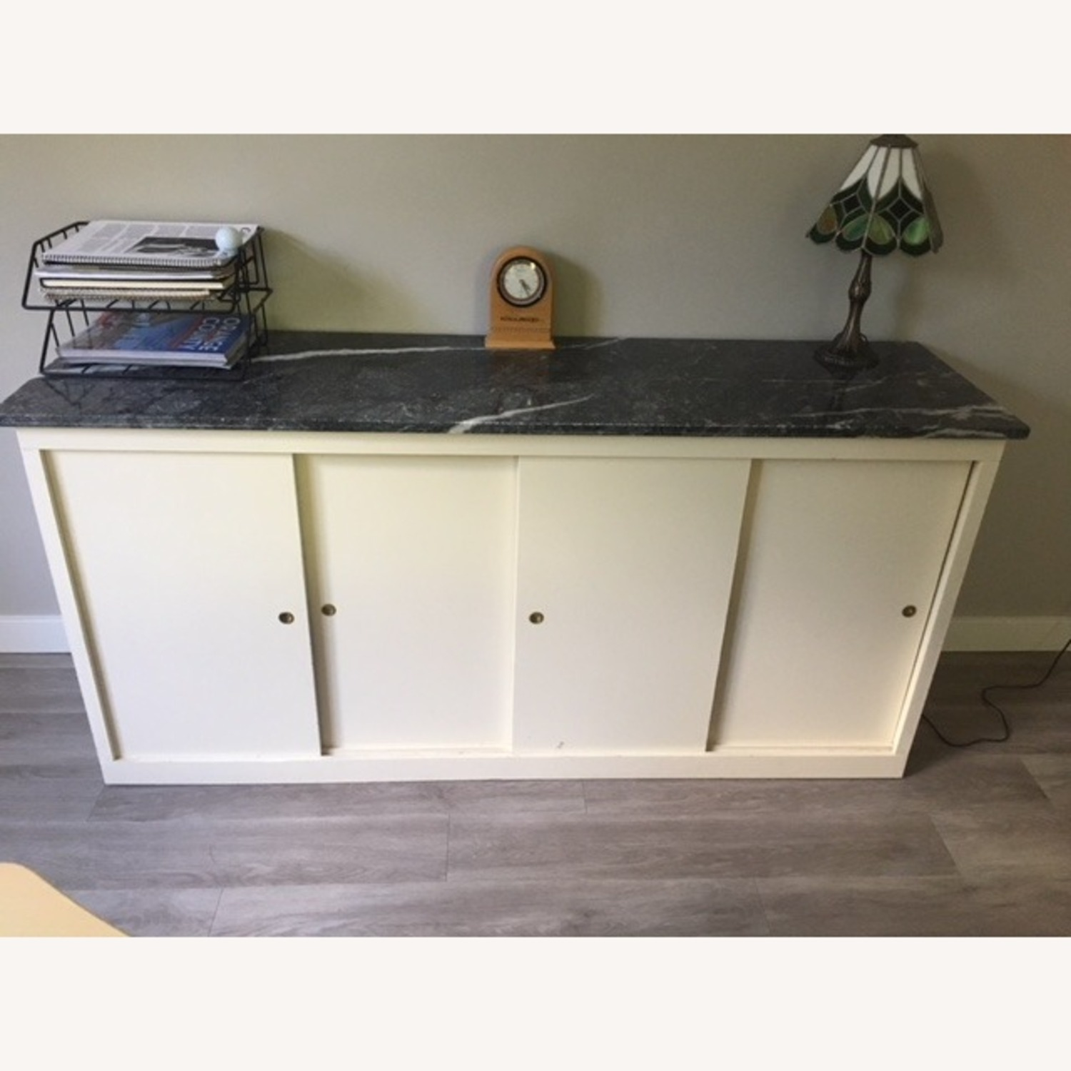 Office Storage Unit with Granite Counter Top - image-1