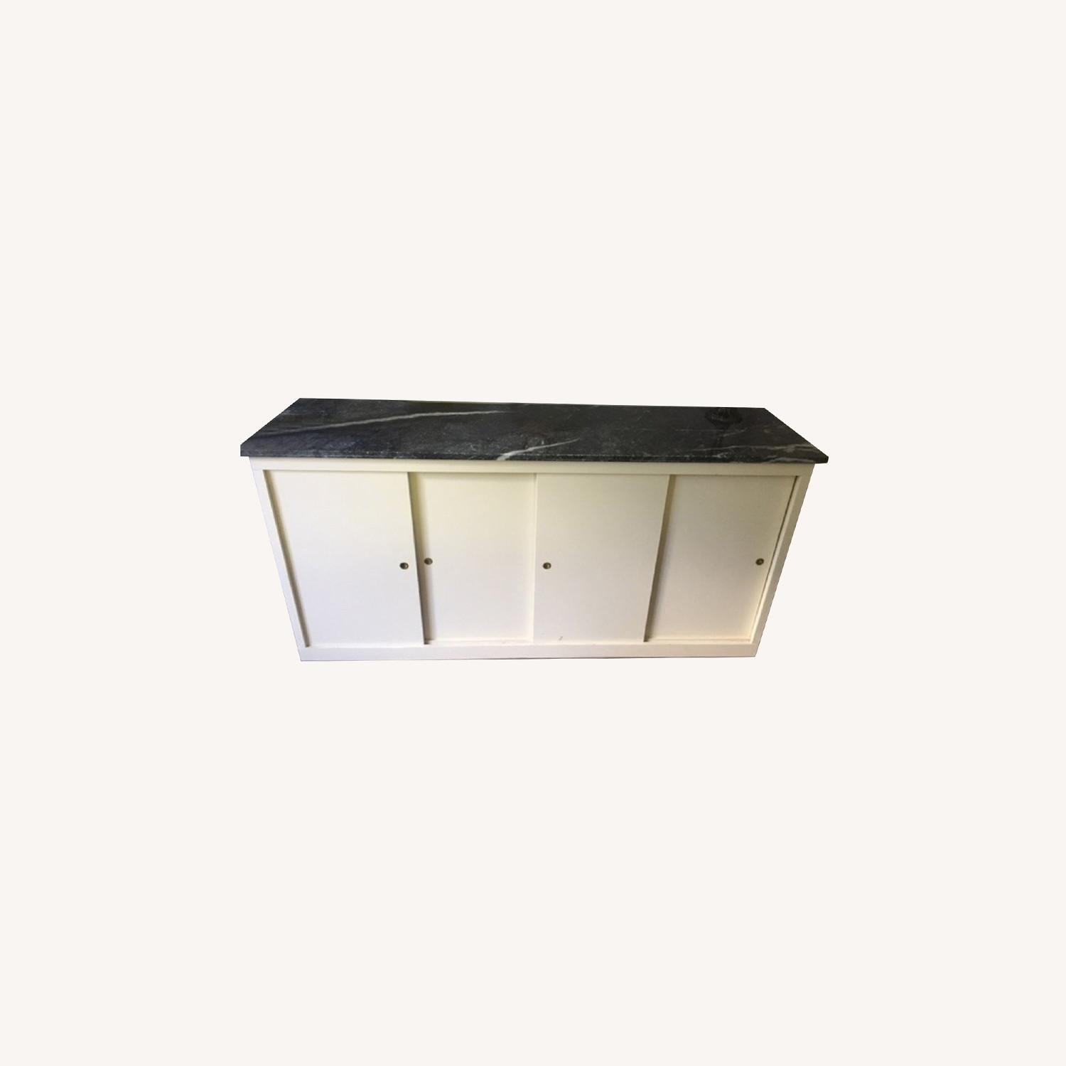 Office Storage Unit with Granite Counter Top - image-0