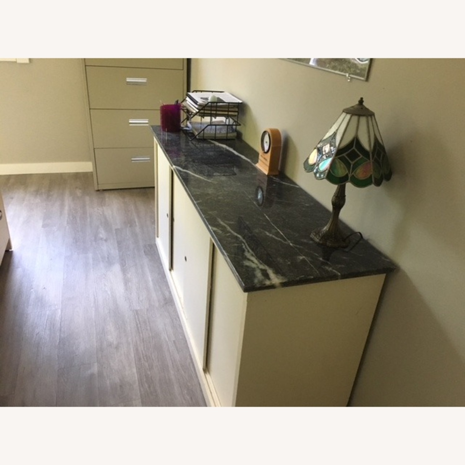 Office Storage Unit with Granite Counter Top - image-3