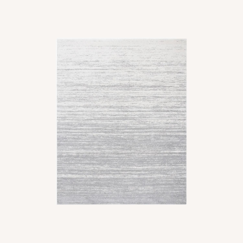 Mercury Row Power Loom Rug 4 x 6 | Silver/Gray - image-0