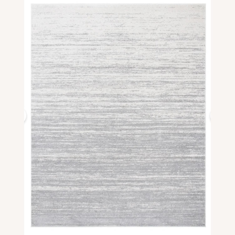 Mercury Row Power Loom Rug 4 x 6 | Silver/Gray - image-1