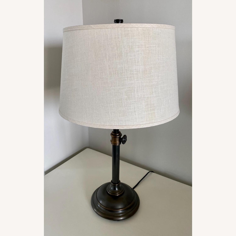 Pottery Barn Chelsea Bronze Table Lamp Set - image-1