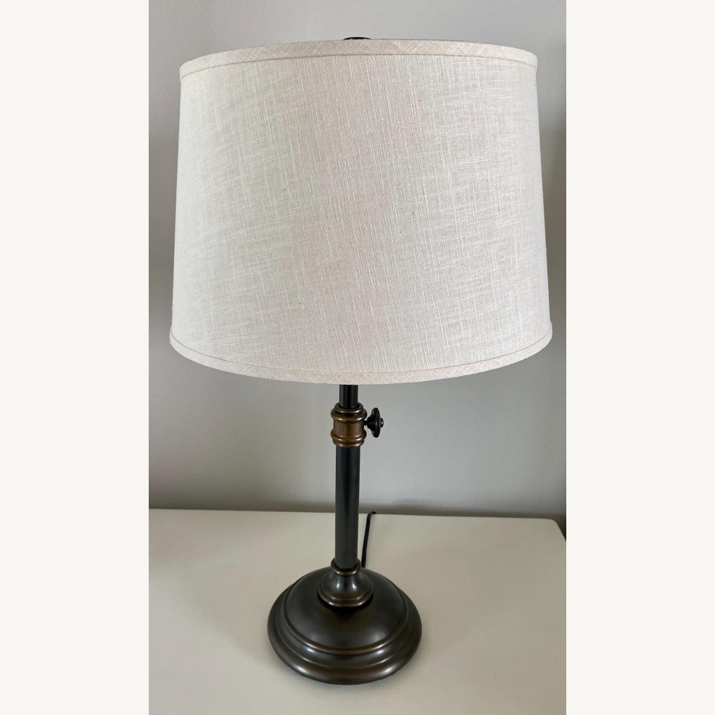 Pottery Barn Chelsea Bronze Table Lamp Set - image-2
