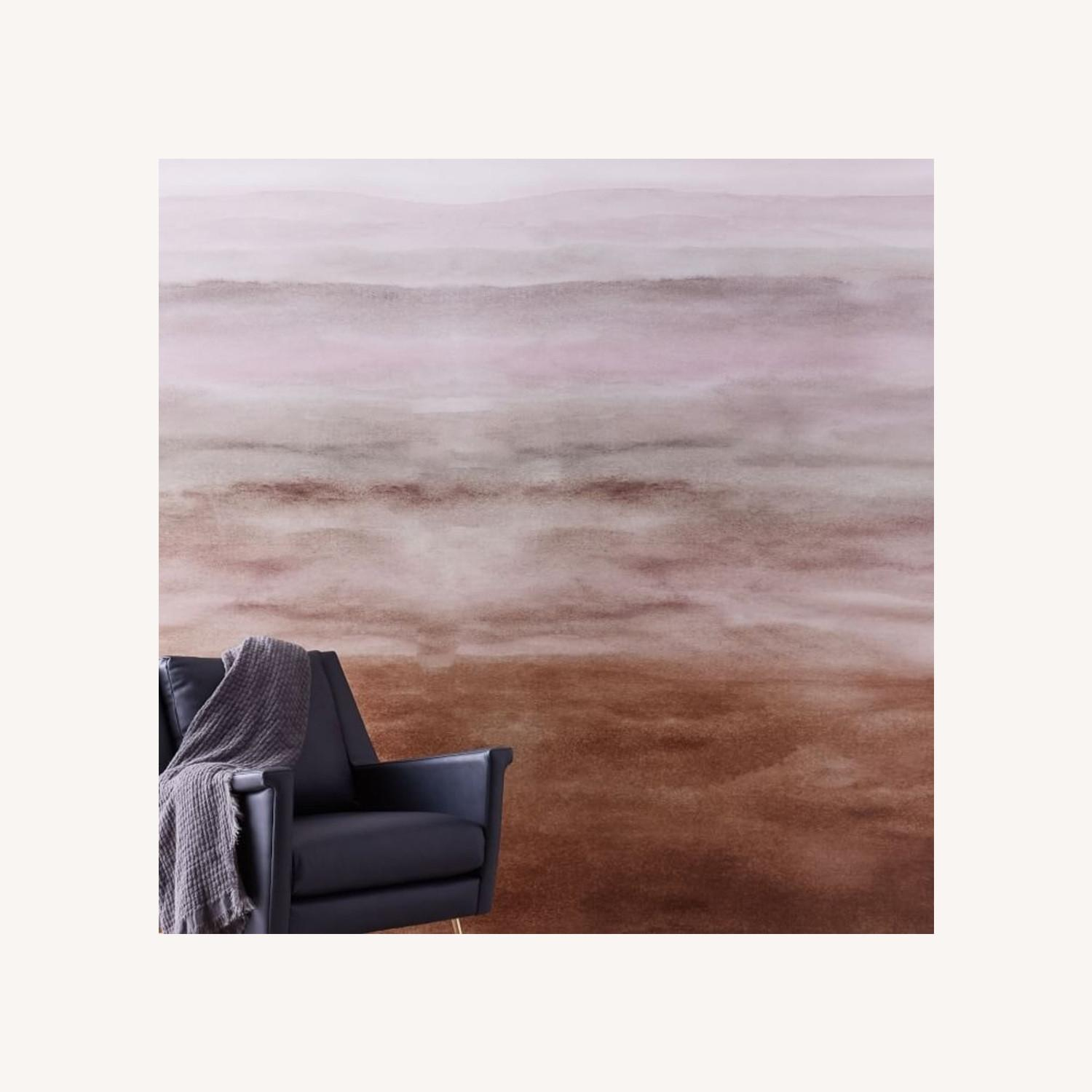 West Elm Washed Ombre Wallpaper, Single Roll - image-0