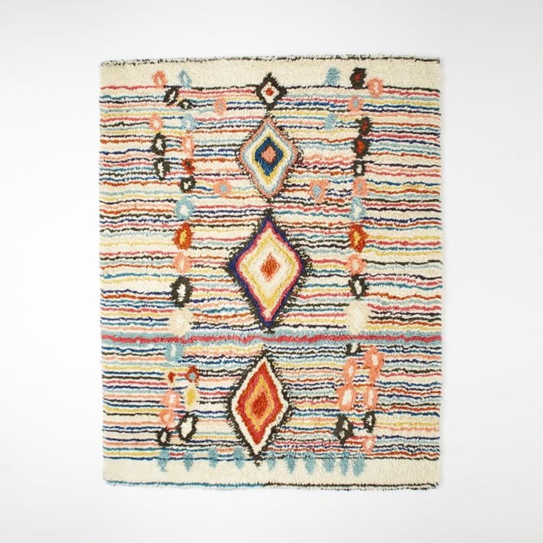 West Elm Charm Wool Rug, Multi - image-3