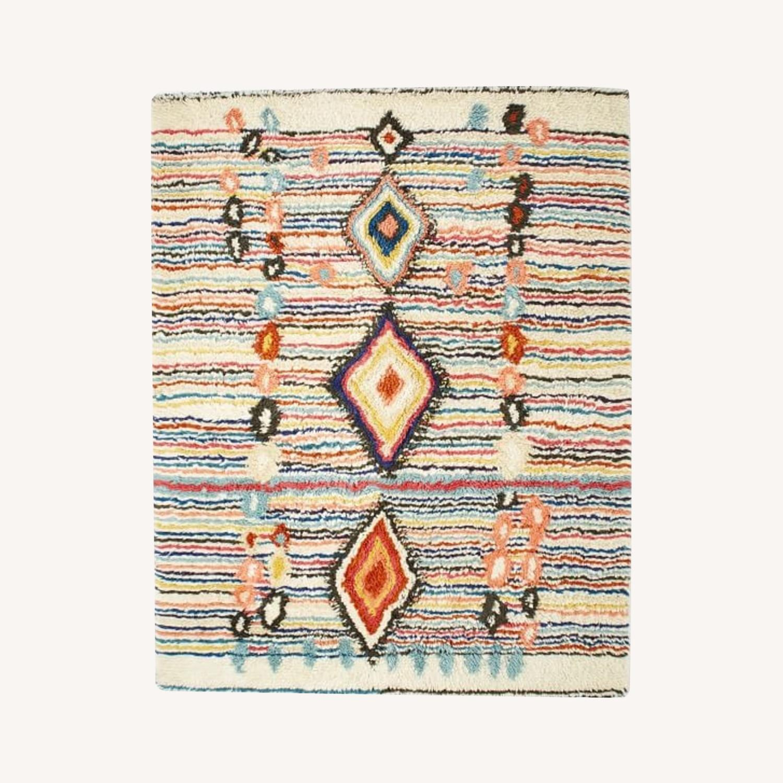West Elm Charm Wool Rug, Multi - image-0