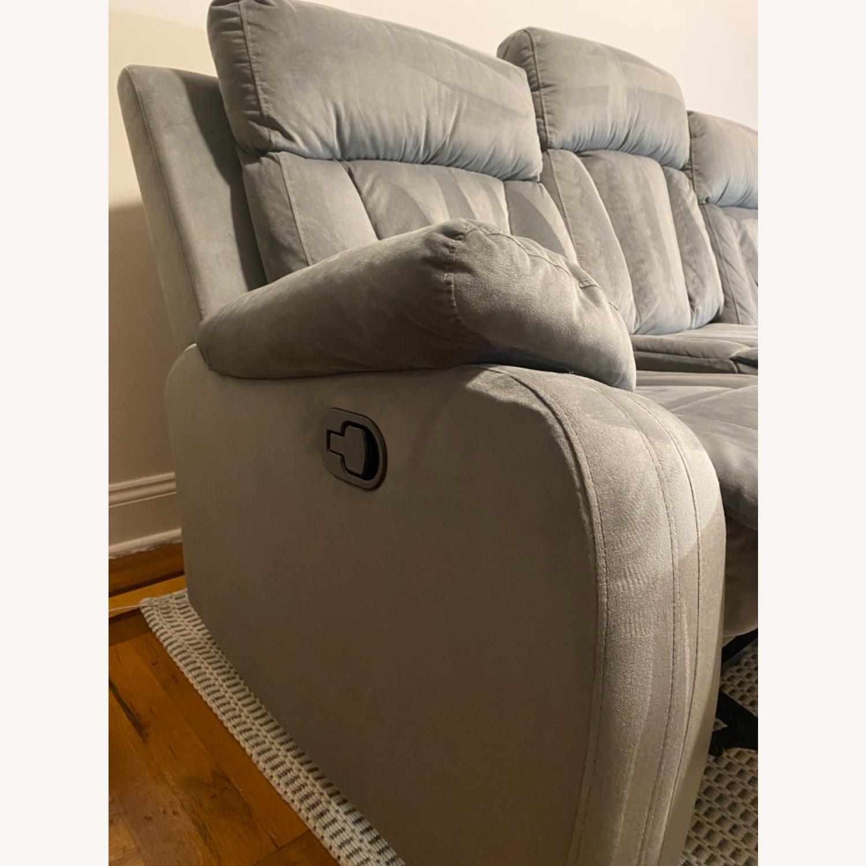 Wayfair Reclining Sofa - image-5