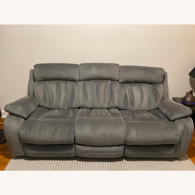 Wayfair Reclining Sofa - image-2