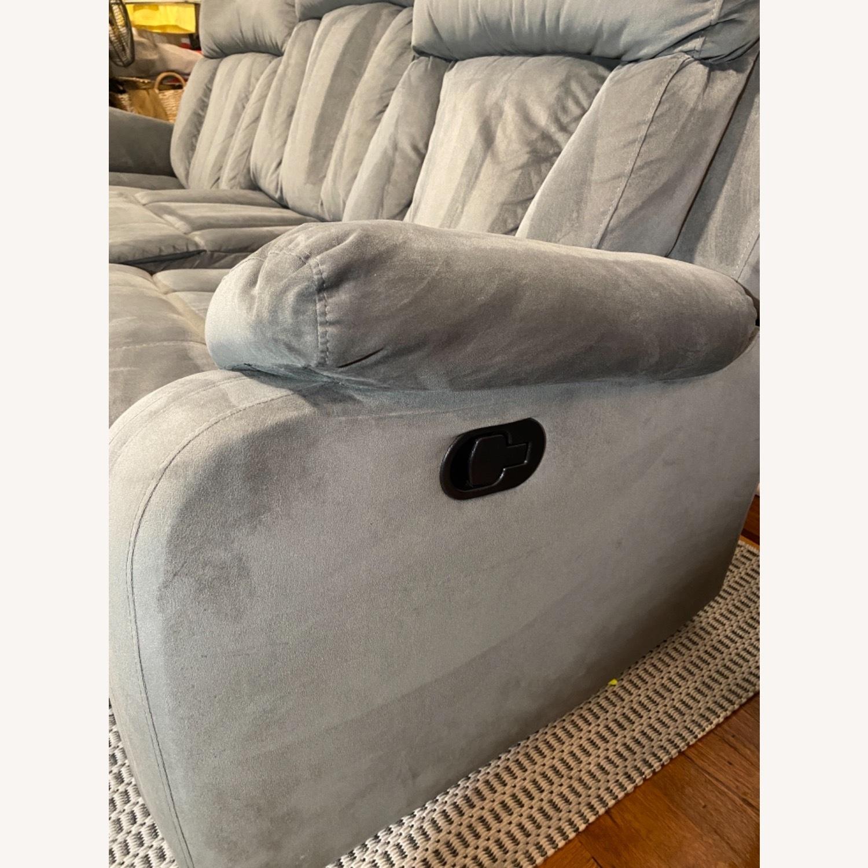 Wayfair Reclining Sofa - image-6