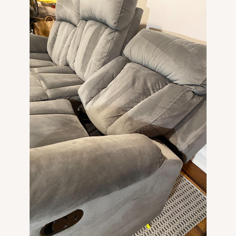 Wayfair Reclining Sofa - image-8