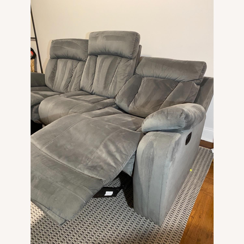Wayfair Reclining Sofa - image-7