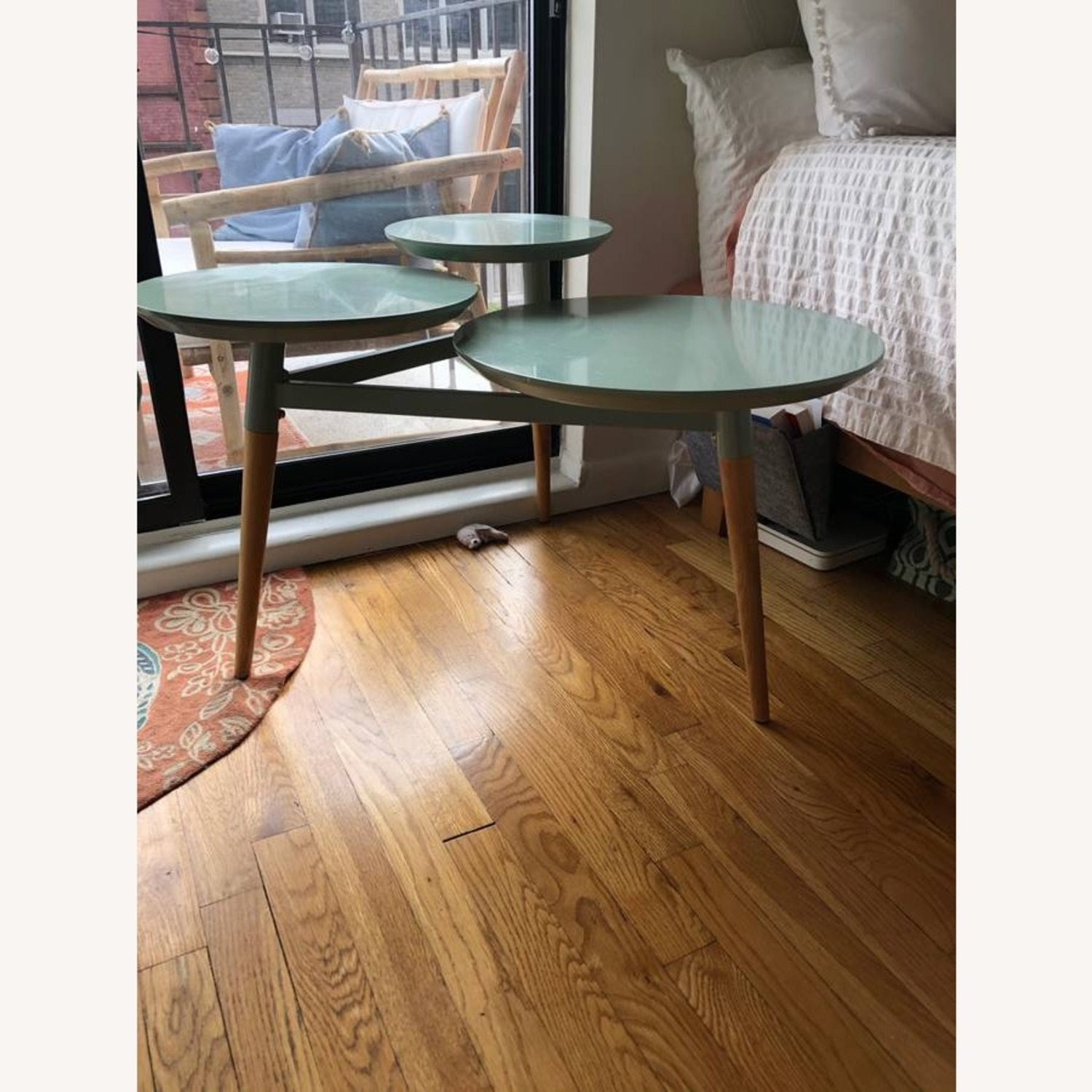 West Elm Clover Coffee Table - image-1