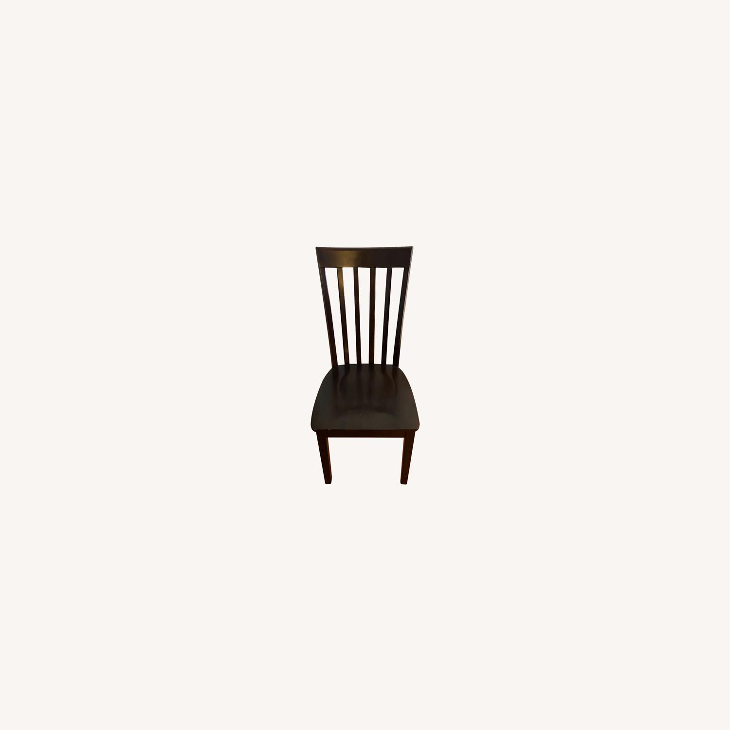Ashley Furniture Brown Dining Chairs - 4 - image-0