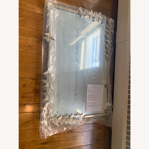 Used Pottery Barn Monique Lhuillier Butterfly Mirror for sale on AptDeco