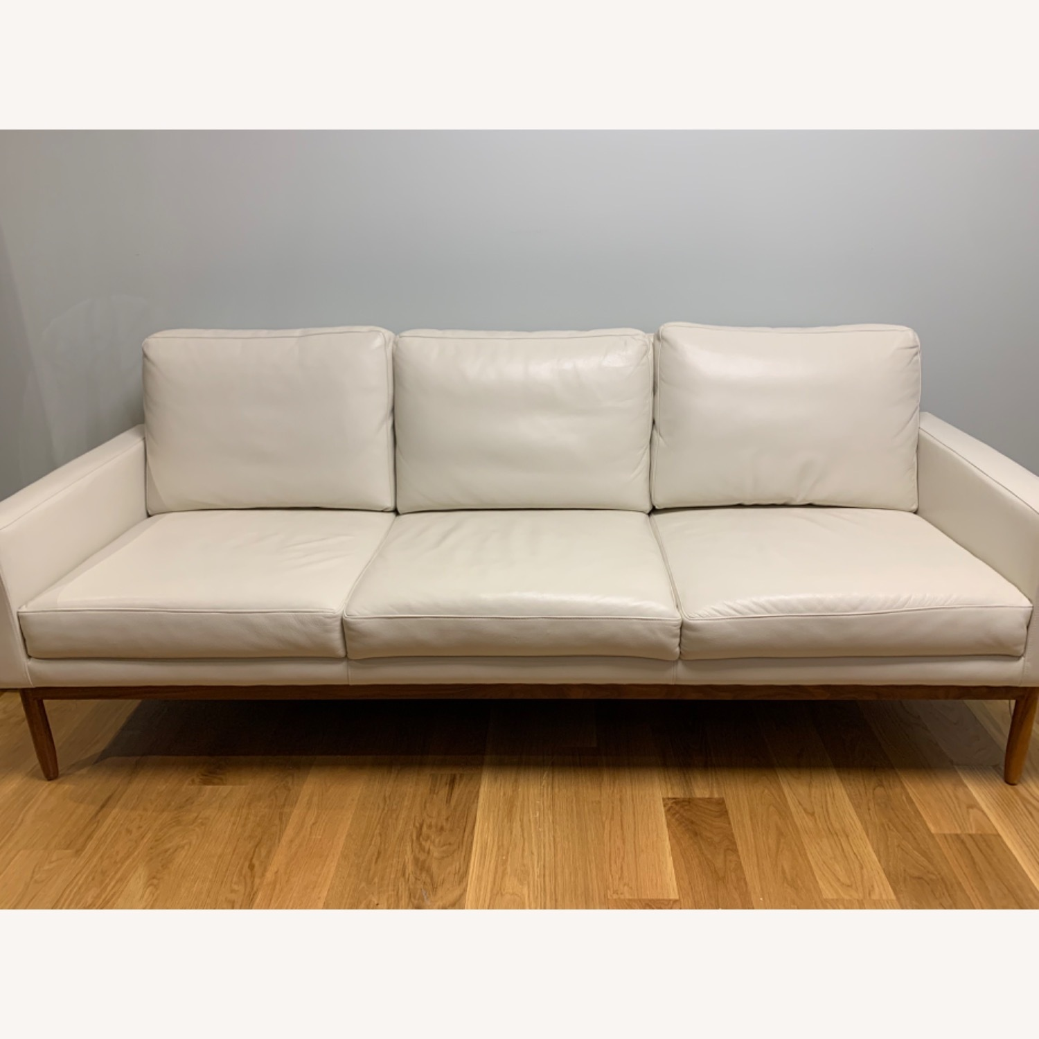 Design Within Reach Leather Raleigh Sofa - image-0