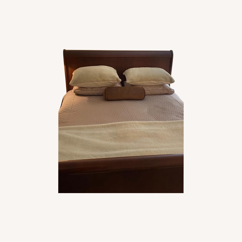 Macy's Sleigh Queen Bed - image-0