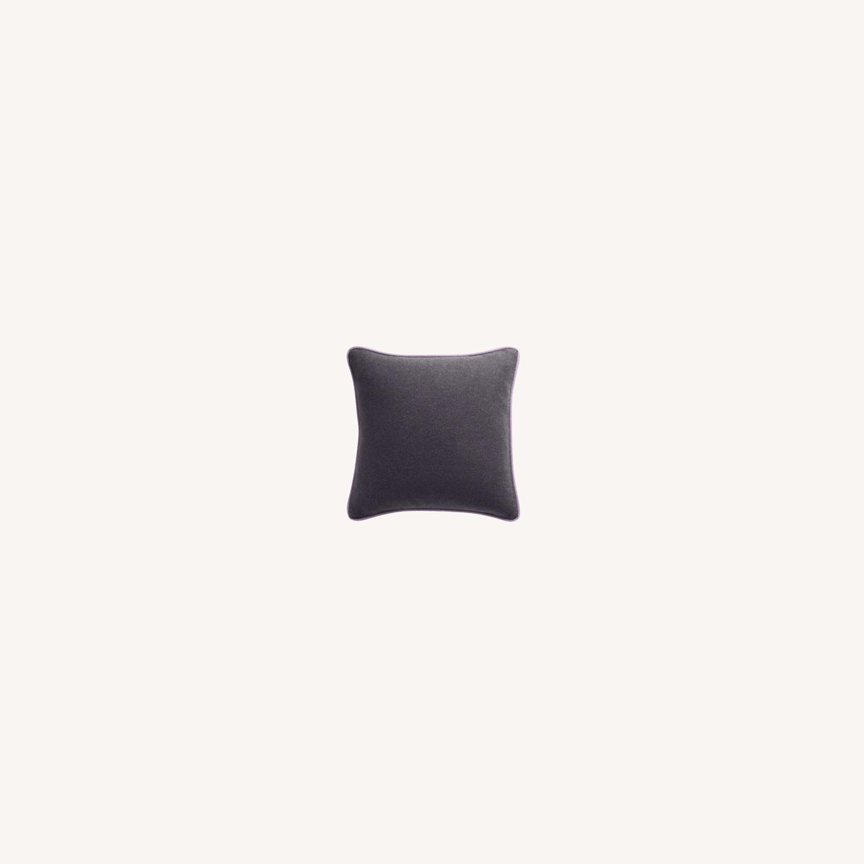 4x Blu Dot Duck Duck Square Pillows - image-0