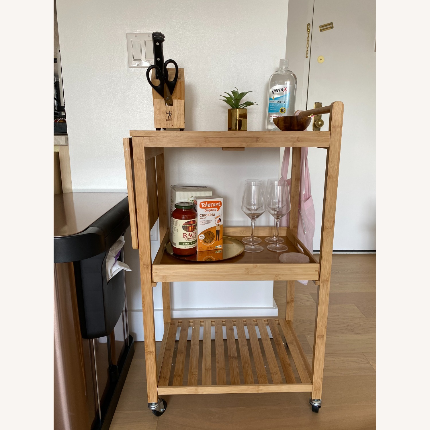 Target Bar Cart w/Cutting Board - image-6