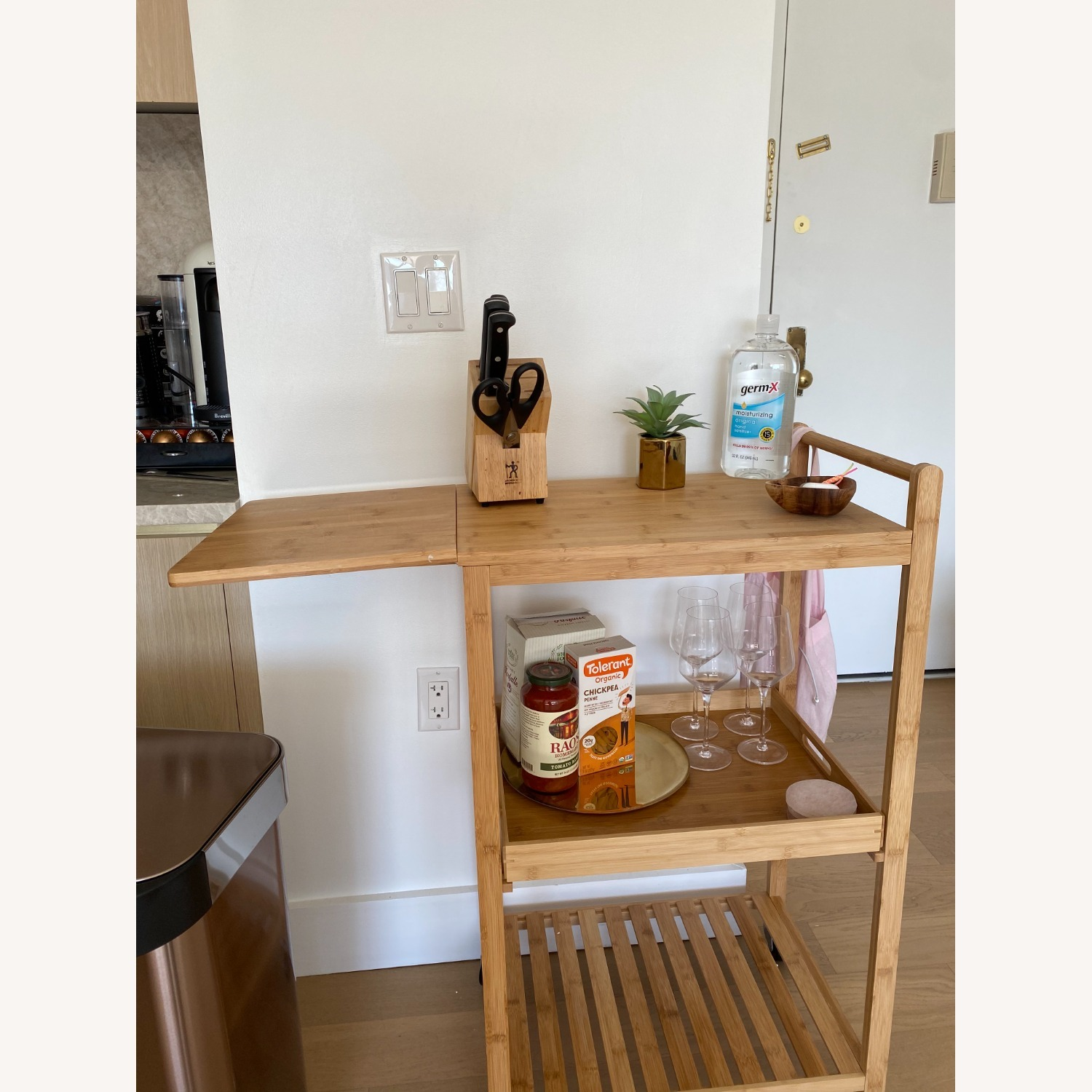 Target Bar Cart w/Cutting Board - image-4