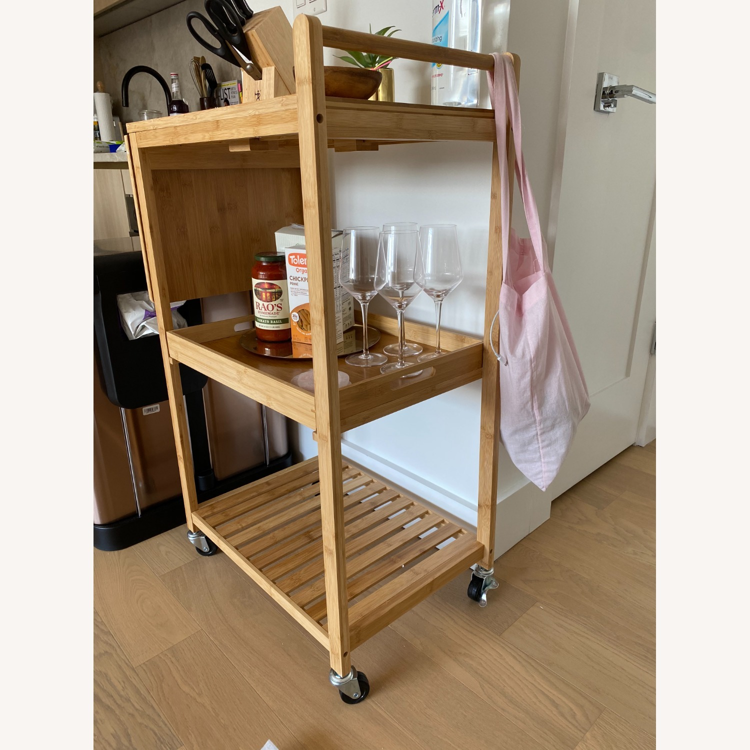 Target Bar Cart w/Cutting Board - image-1
