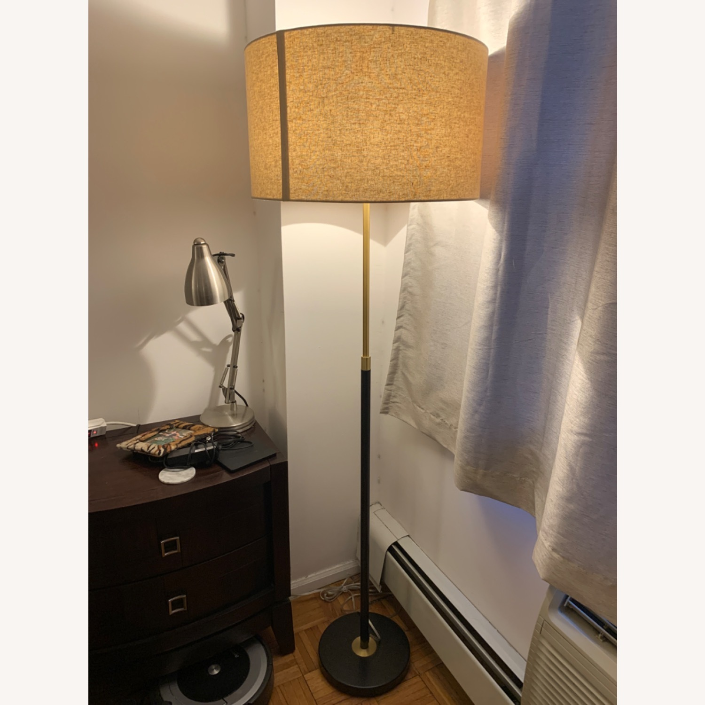 West Elm Telescoping Adjustable Floor Lamp - image-1