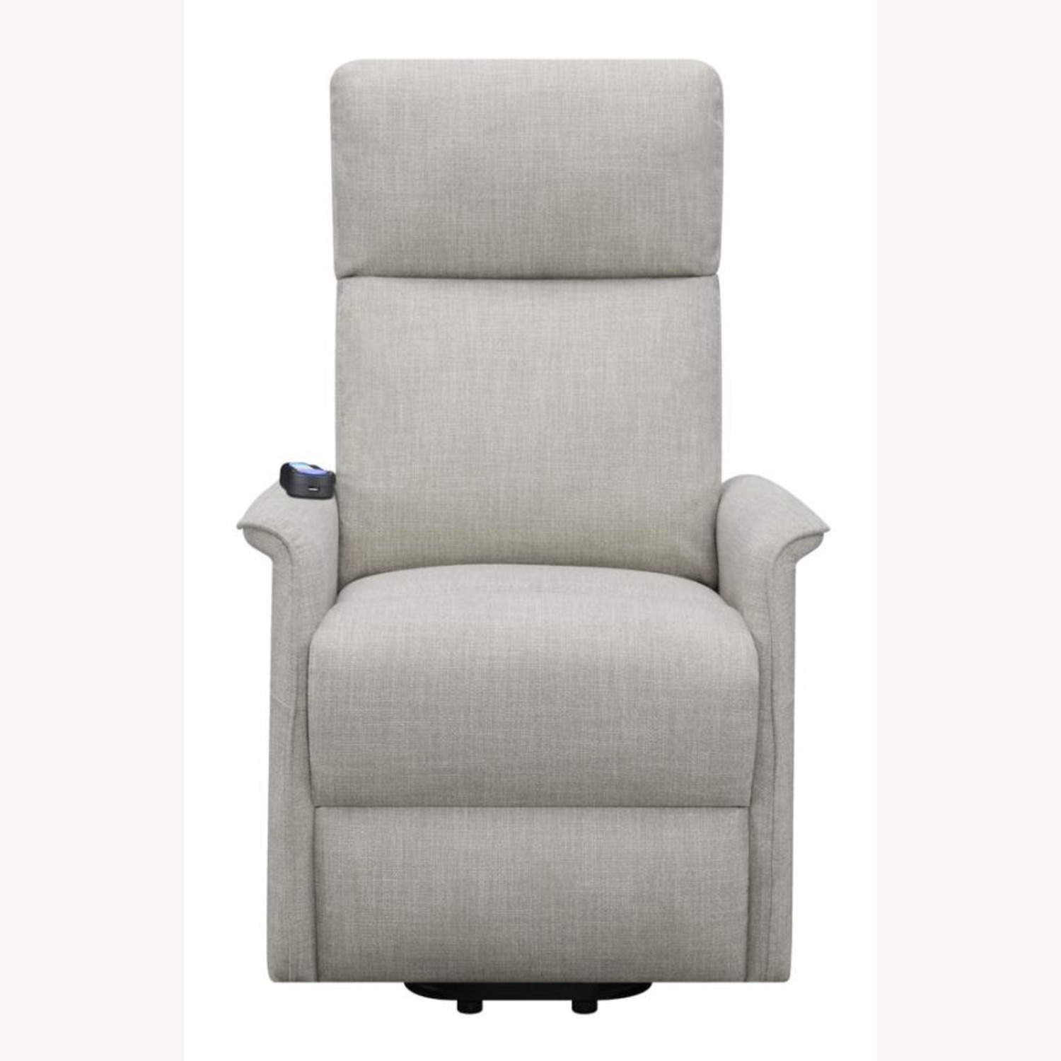 Power Lift Recliner Tufted In Beige Fabric - image-4