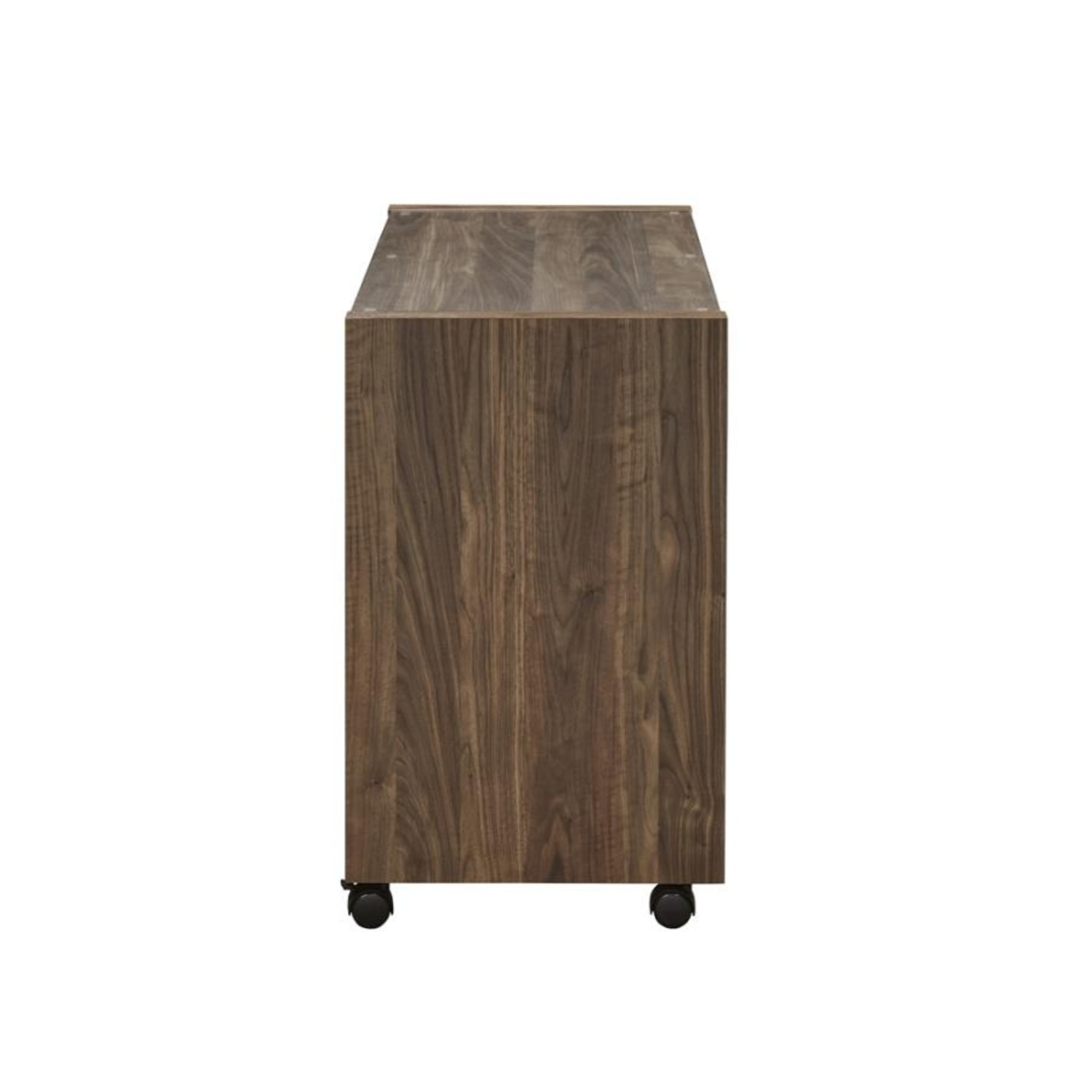 Mobile Return On Casters In Aged Walnut Finish  - image-3