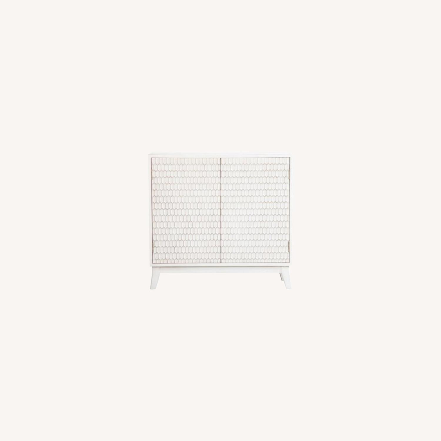 Accent Cabinet In White Washed Finish - image-8