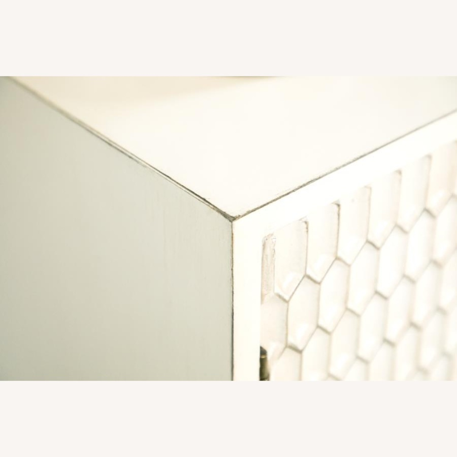 Accent Cabinet In White Washed Finish - image-6