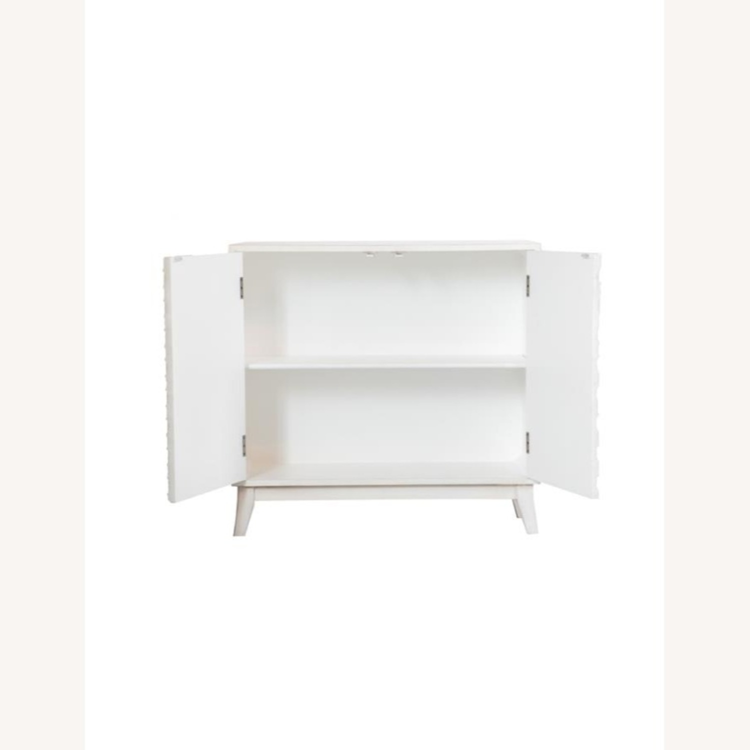 Accent Cabinet In White Washed Finish - image-1