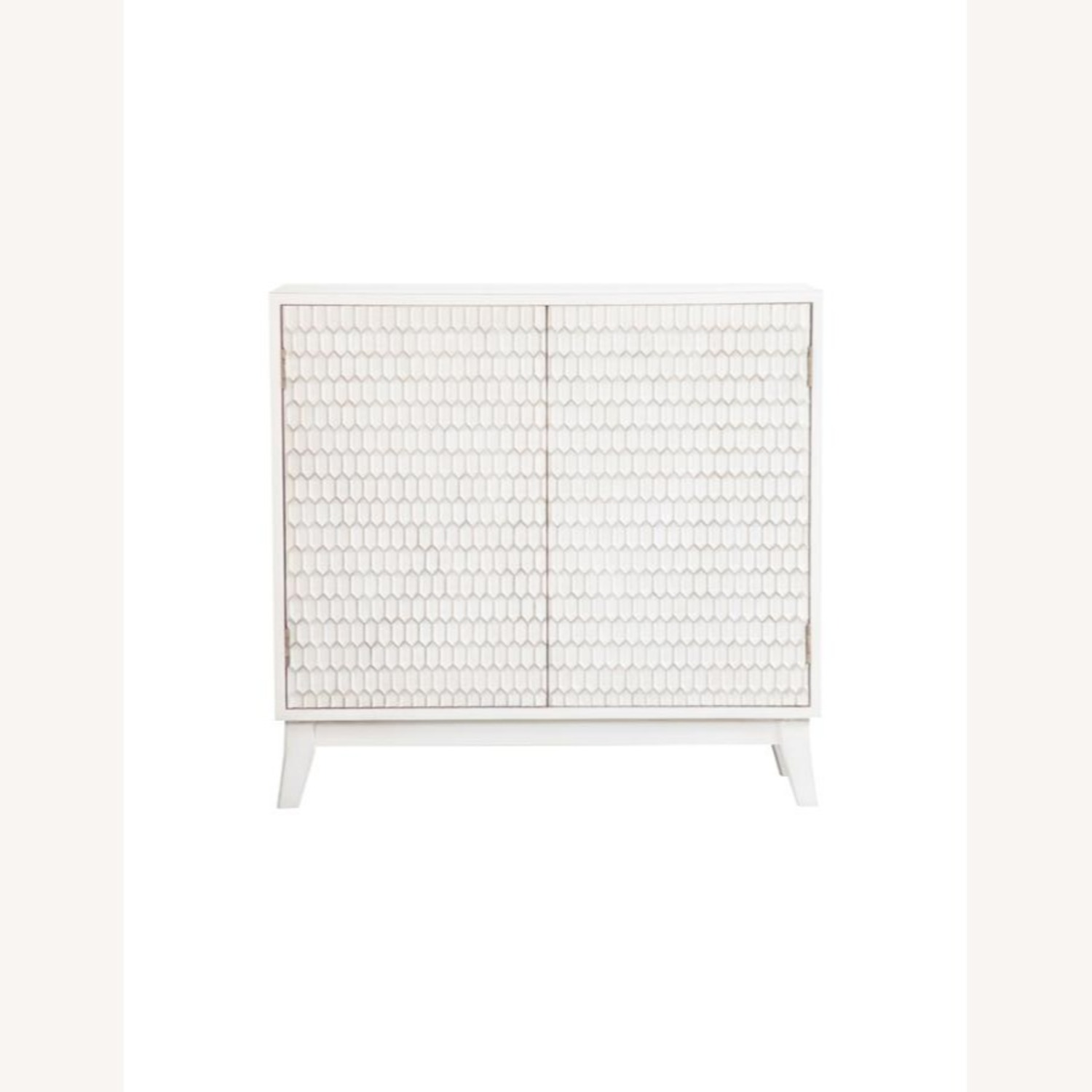 Accent Cabinet In White Washed Finish - image-0