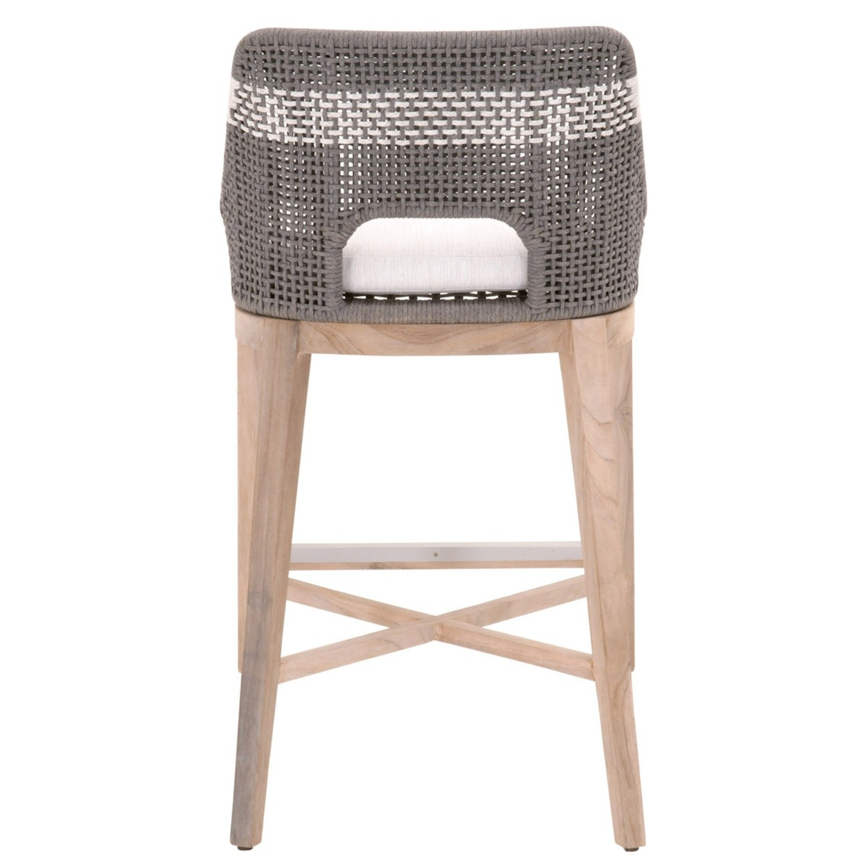 Essentials for Living Brand Teak Wood Bar Chair - image-9