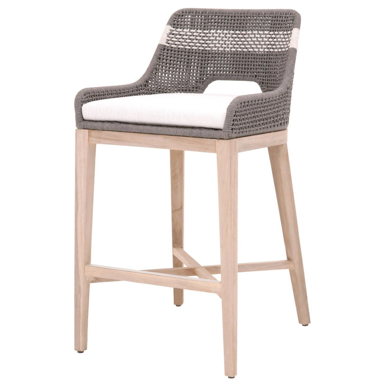 Essentials for Living Brand Teak Wood Bar Chair - image-6