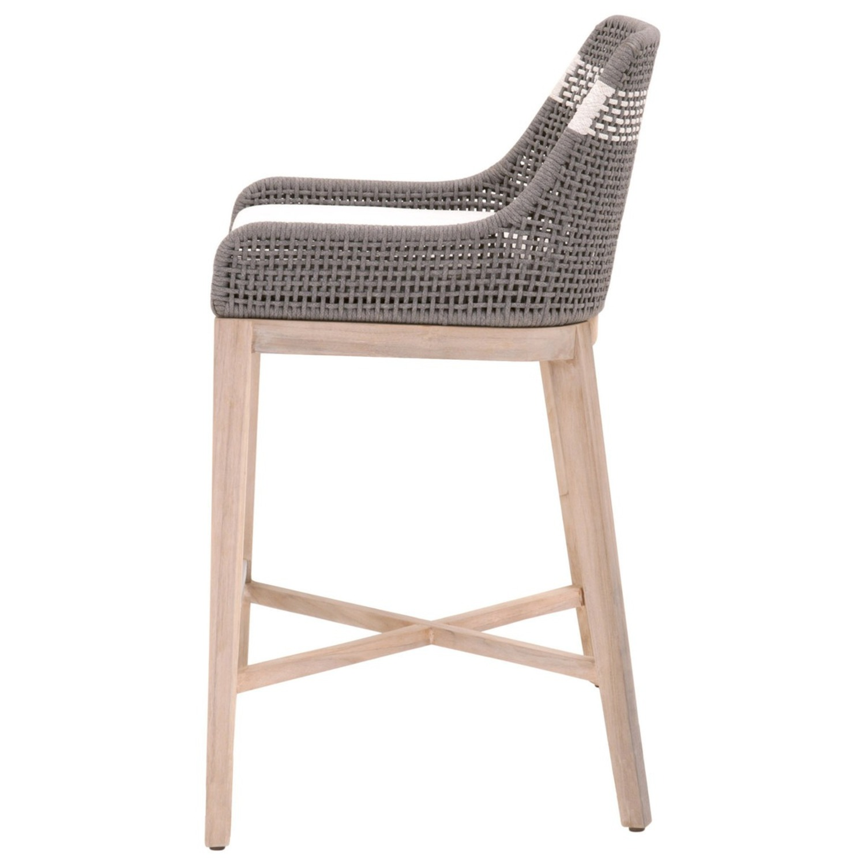 Essentials for Living Brand Teak Wood Bar Chair - image-7