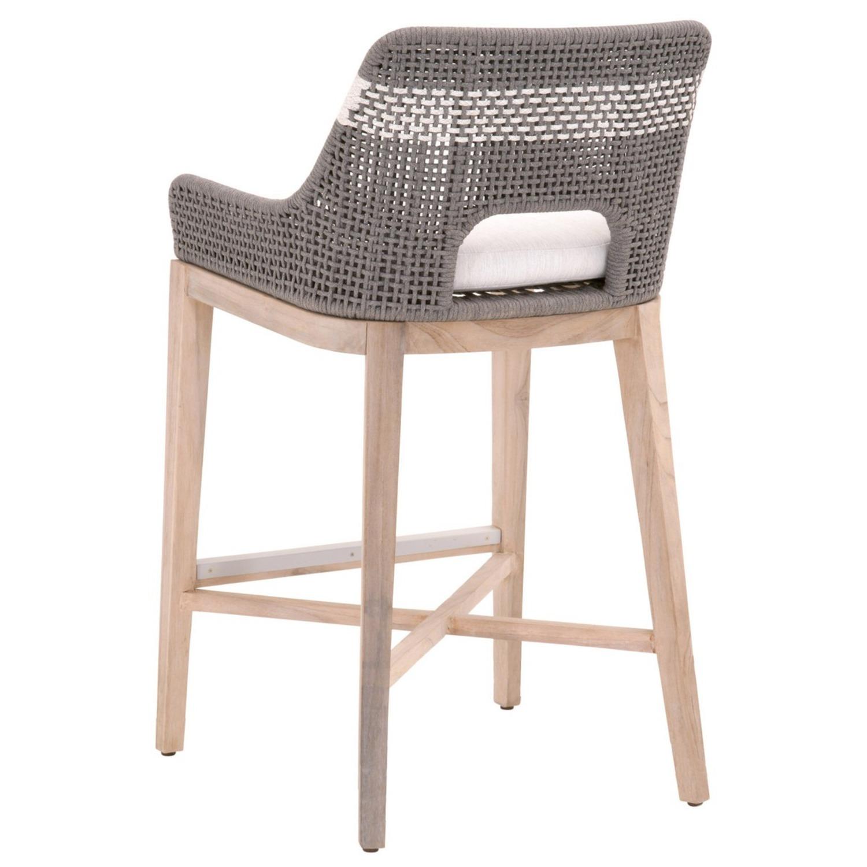 Essentials for Living Brand Teak Wood Bar Chair - image-8
