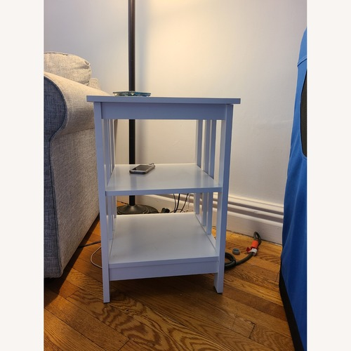 Used Convenience Concepts Two White Side tables for sale on AptDeco